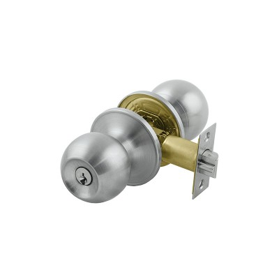 Raymond Entrance Set Knob 9KA Brushed Nickel
