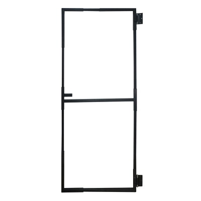 Gate Frame Kit 1000-1870mm x 700-1200mm GREY
