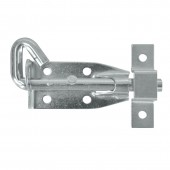 Single Eye Padbolt with Square Keeper 100mm ZP