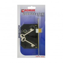 Mortice Lock 75mm BP