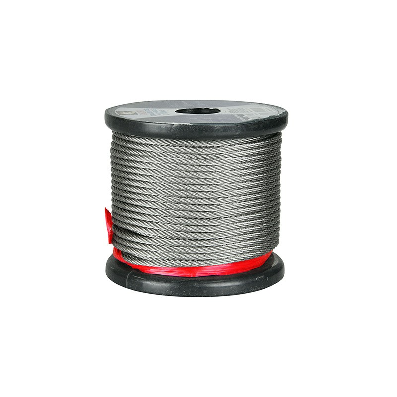 Stainless Steel Wire 7x19 Strand 4mm x 305m (1000ft)