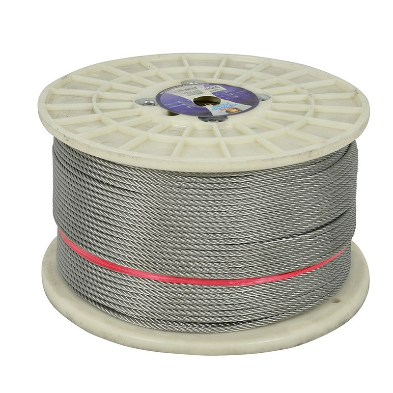 Stainless Steel Wire 7X19 | Stainless Steel Wire 7x19 Strand 5mm X 305m 1000ft